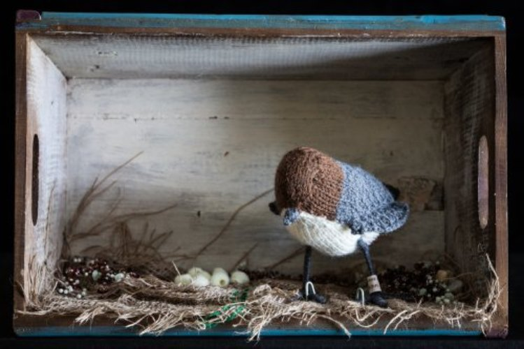 Knitted-Taxidermy - Dipper